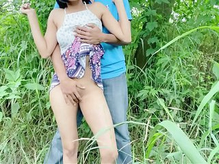 cute desi teen full naked fuck in jungle