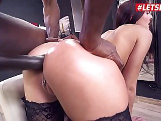 LETSDOEIT - Anal Interracial Hardcore Fun With Katy Rose & Mike Chapman