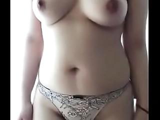 Desi girl fingers herself for pleasure