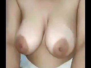 Desi Gujarati Aunty Big Natural Tits Indian Milf Riding a Dick